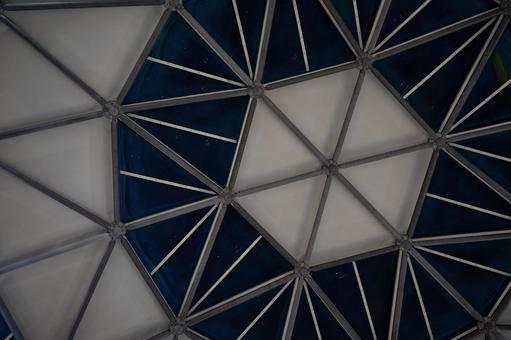 Dome in front of the station