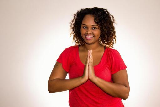 흑인 여자 포즈 53