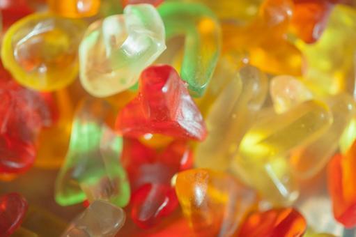 Colorful gummy 1