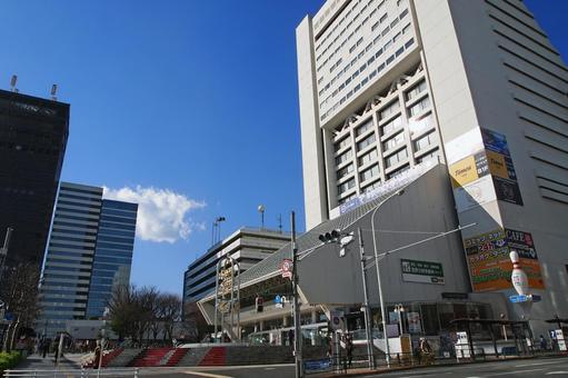 Around the north exit of Nakano Station