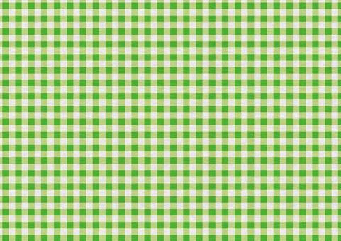 Gingham Check Texture [Campus / Yellow Green]