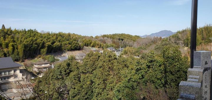 T谷山的景色