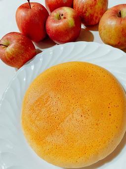 사과 그릇 믹서 과자 만들기 팬케이크 팬케이크 점심 간식 아침 식사