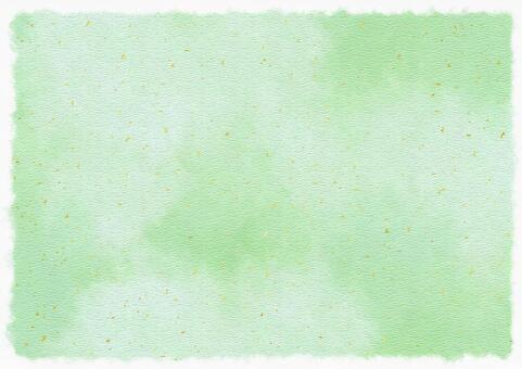 和紙テクスチャ02【うぐいす色/金箔】