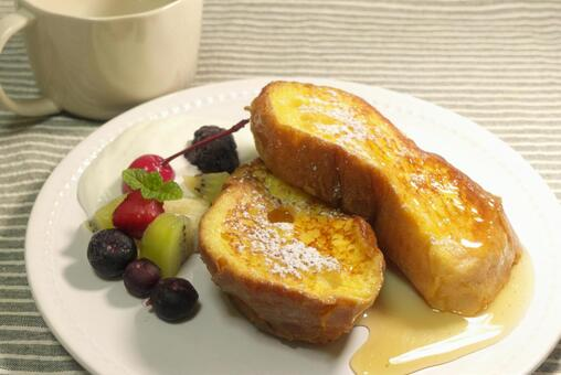French toast of French bread