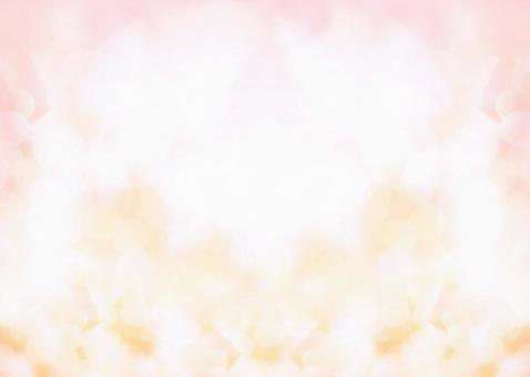 背景紋理水彩框架春天粉紅色米色