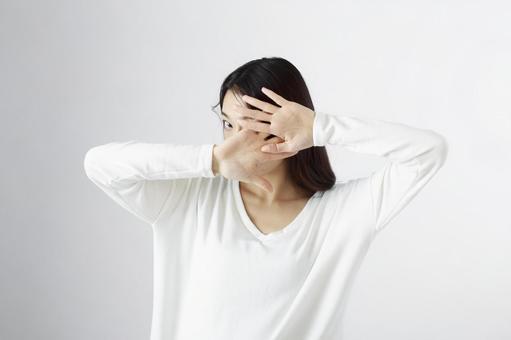 Blindfold Japanese women 1