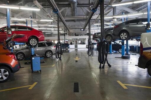 自动车整备工场5