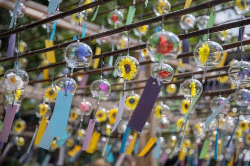 Wind chimes festival