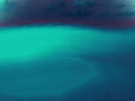 환상적인 밤하늘 오로라 같은 빛 아름다운 어두운 멋진 예술
