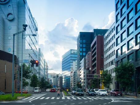 도시의 거리