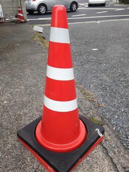 Triangular pole