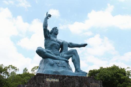 長崎縣長崎市和平紀念雕像011