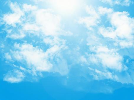 晴天天空背景