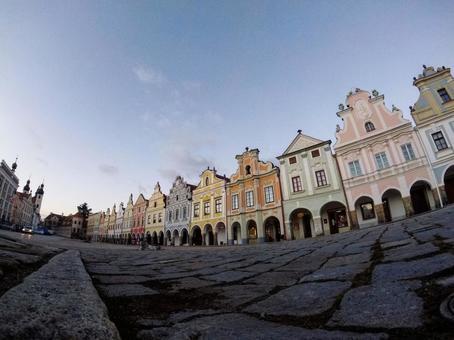 체코에있는 세계 유산 마을 텔치