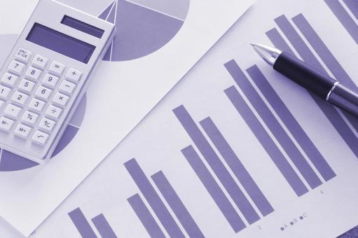 Business materials purple