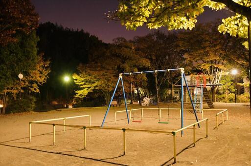밤의 공원