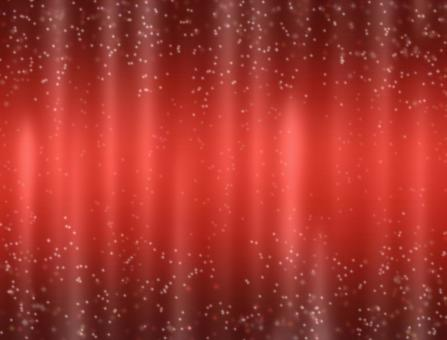 Red silk drape _ glitter