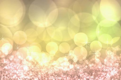 Sparkle of yellow