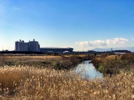 Nissan Stadium and Shin-Yokohama