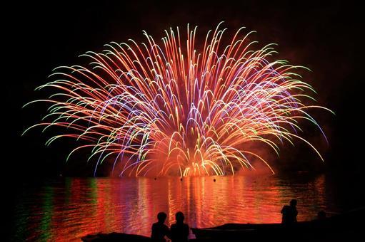 Water fireworks 09