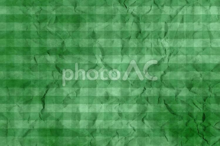 しわのある和紙 彩雲 ギンガムチェック柄 ちぢれ 凸凹 テクスチャ 49の写真