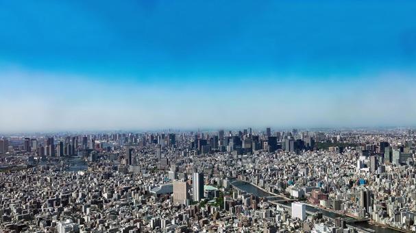 Tokyo cityscape-2
