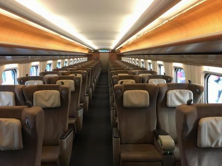 Shinkansen in the car