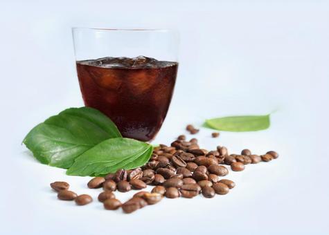 커피 오한 맛있는 아이스 커피
