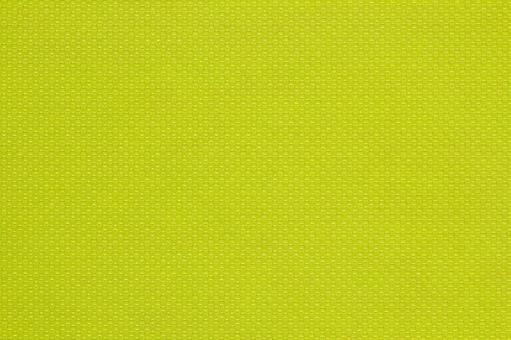 Background material of plastic fiber with green stitch