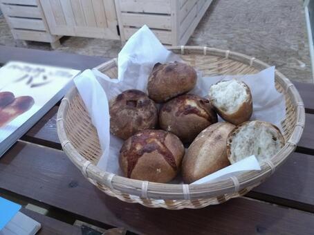 수제 구운 빵
