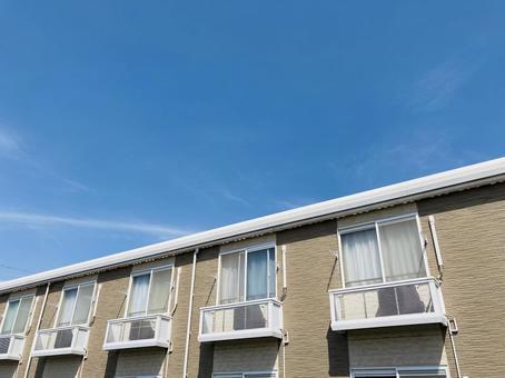 Beige apartment real estate