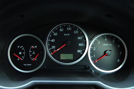 Manual car meter