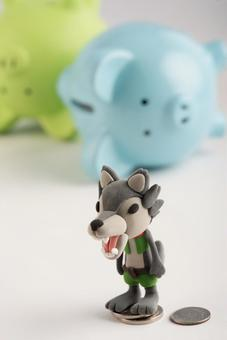 Wolf and pig 13