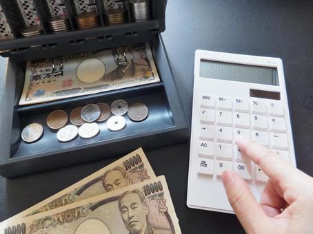 Money and calculator 1