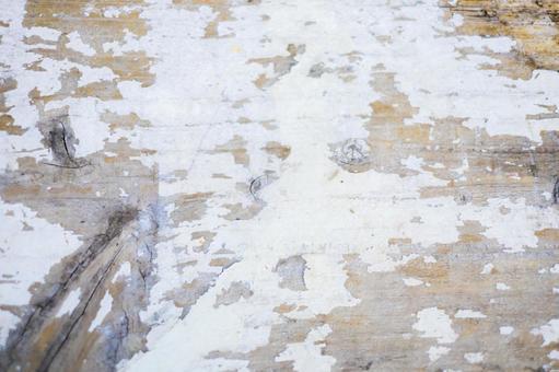 나무 판자 _ 흰색 페인트 _ 배경 소재