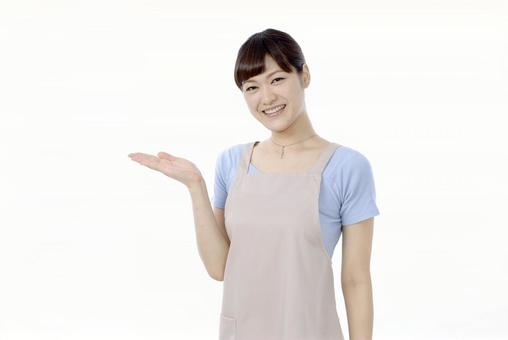 Guide pause apron lady 4