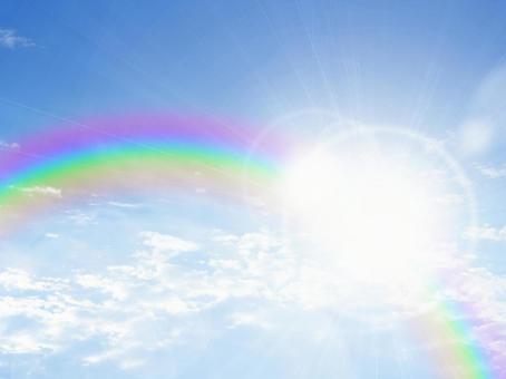 푸른 하늘과 무지개 16110603