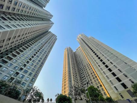 Real estate, condominiums, buildings