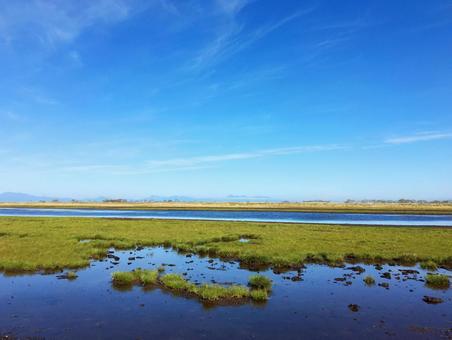 Wetland 2 of the Noshiki peninsula