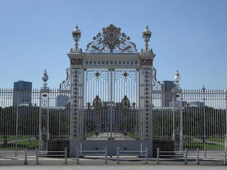 Gate of the guesthouse