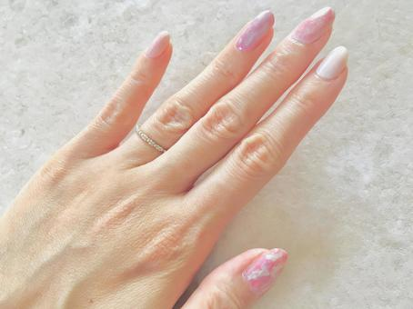 Marble nails, marble style nails