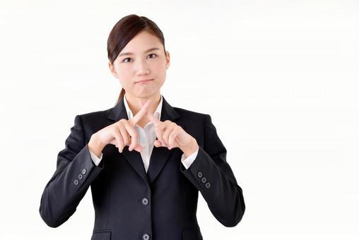 Female in suit suit 23