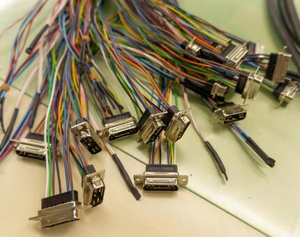 [Electric wire processing] Cable harness / wire harness Electrical materials [Industry]