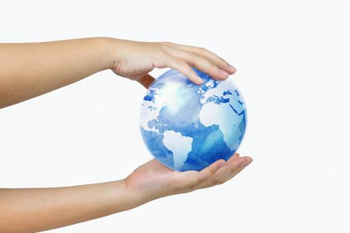 手3与地球
