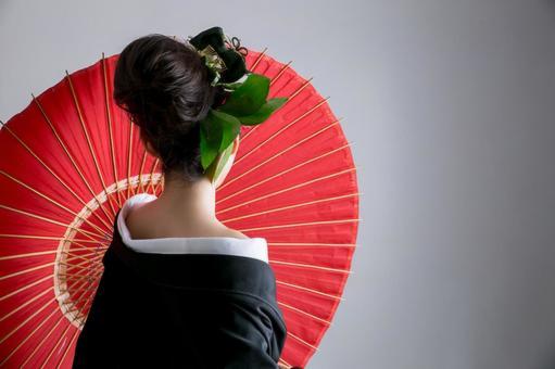 Flower style woman