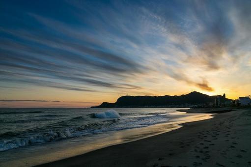 Sunset / Coast / Hakodateyama