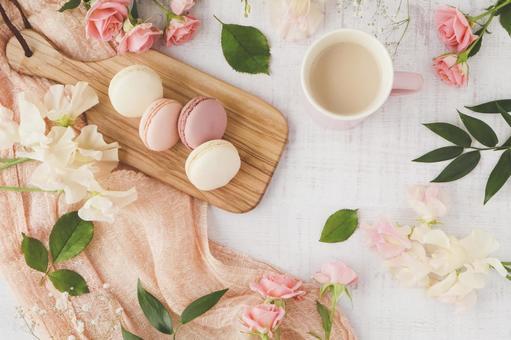 Spring color tea time