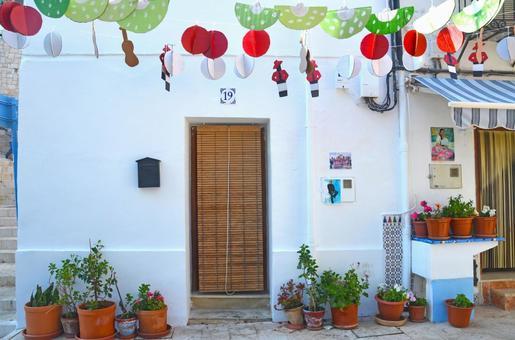Spanish streets Blind entrance