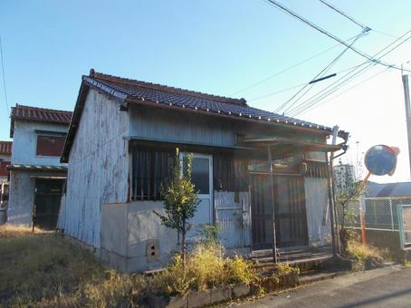 Unoccupied house with bright sunlight